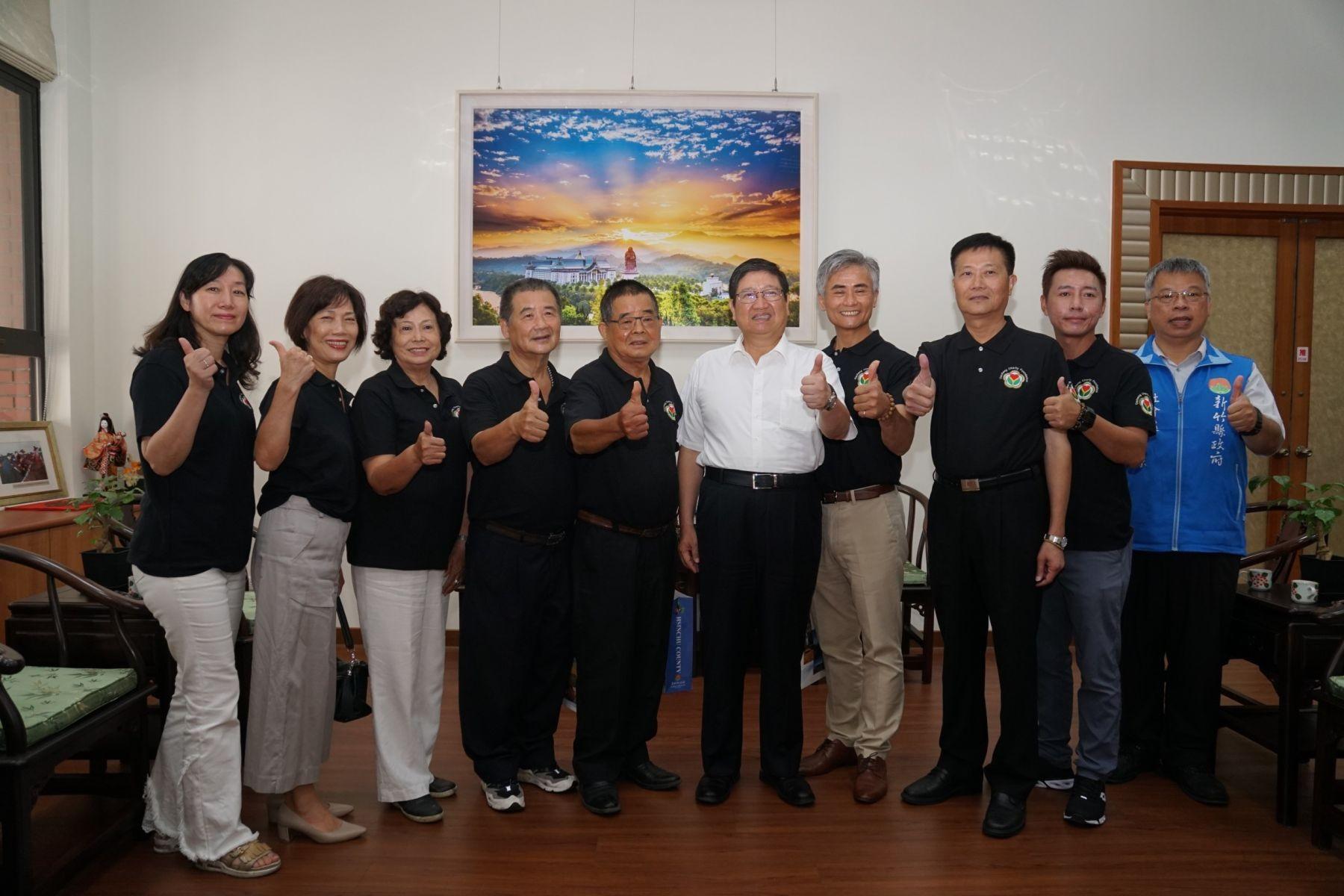 達成慈善基金會再捐贈新竹縣社會救助金專戶100萬  截至目前共有340名縣民受惠